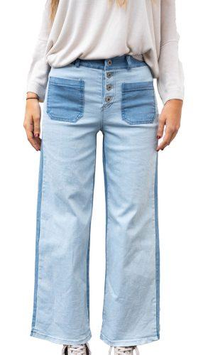 Pantalón Bicolor Claro