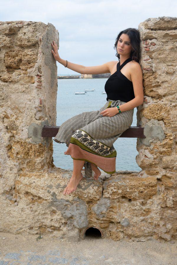 Falda pareo aliso II salambó