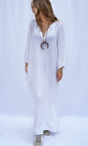 Kaftan Azalea Salambó blanco principal