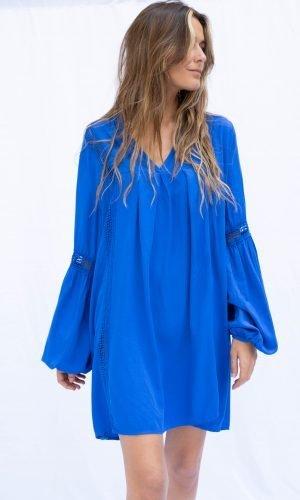 Vestido Rhus Salambó Azul añil